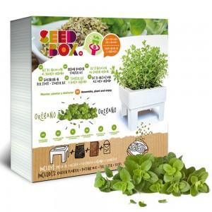 SeedBox Mini huerto orégano